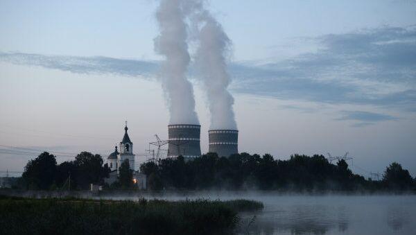 The Kalininskaya Nuclear Power Plant, located near the town of Udomlya in Russia - Sputnik International