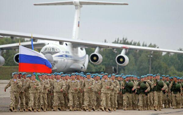 Zapad-2013 Joint Military Drills - Sputnik International