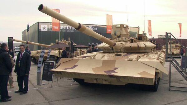 Unique Fighting Vehicles Displayed at Russia Arms Expo-2013 - Sputnik International