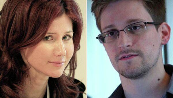 Anna Chapman and Edward Snowden