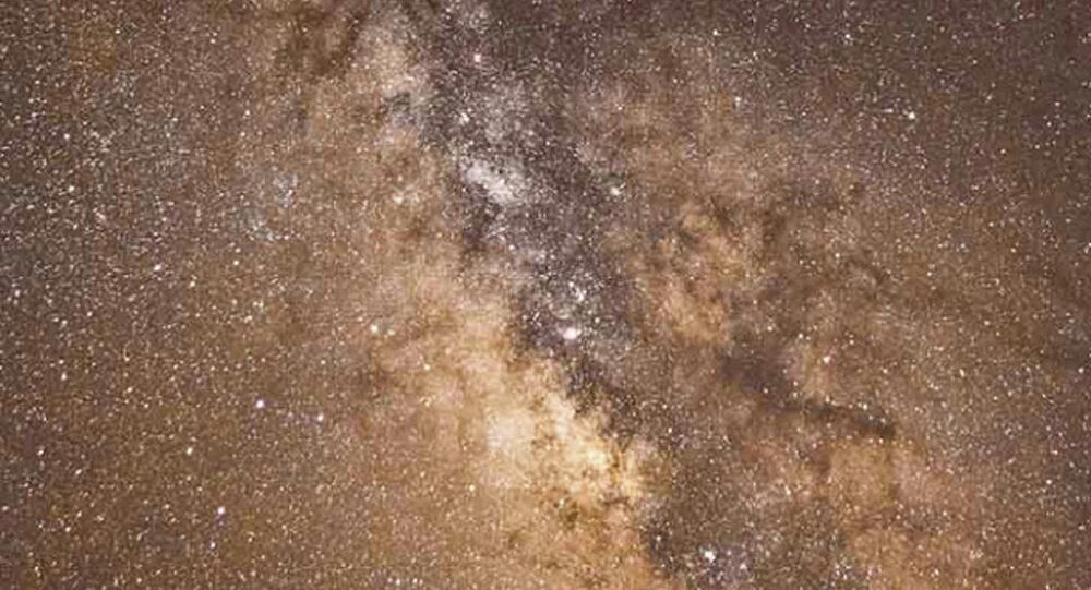 The Milky Way Galaxy by Jacob Marchio