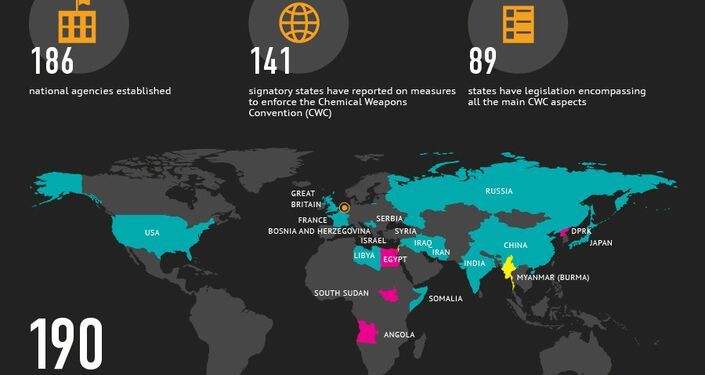 Elimination of Chemical Weapons in the World