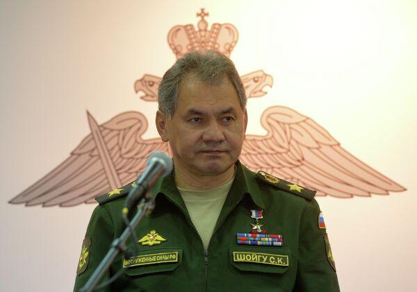 Russian Defense Minister Sergei Shoigu (archive) - Sputnik International