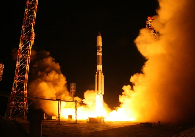 Proton-M lauch-vehicle with Astra-2E satellite launch