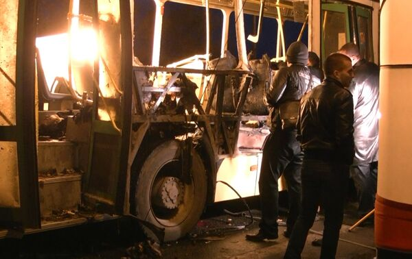 Bus explosion in Volgograd - Sputnik International