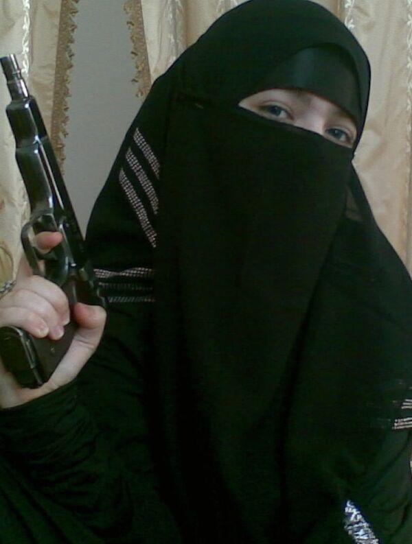Dzhennet Abdurakhmanova, who blew herself up at Moscow's Lubyanka metro station in 2010. - Sputnik International