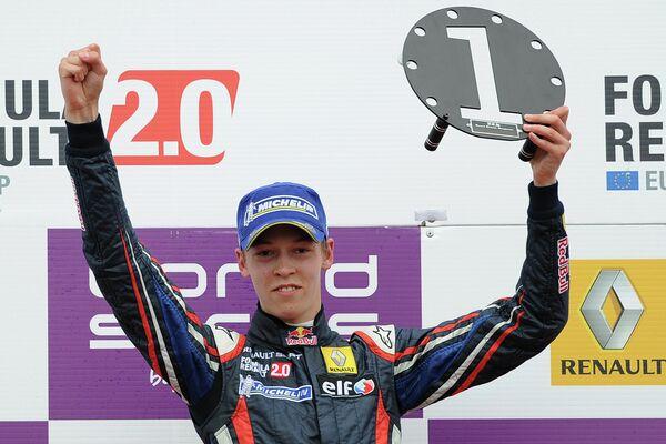 Daniil Kvyat who will race for Infiniti Red Bull Racing in 2015 season - Sputnik International