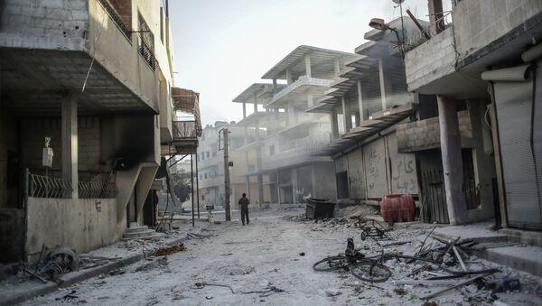 Syrian town Guta - Sputnik International