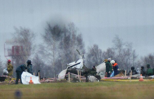 Investigators Find Flight Recorders From Kazan Plane Crash - Sputnik International