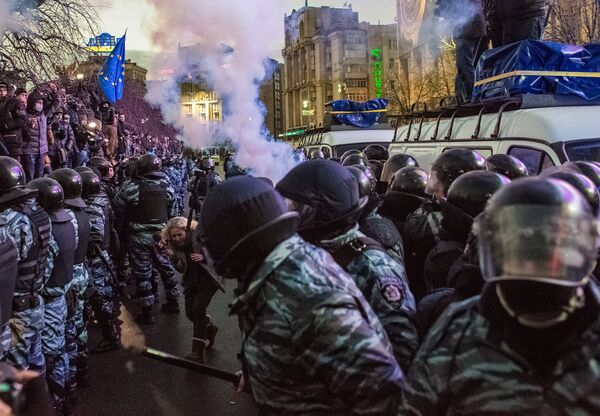 Ukraine Police Chief Apologizes for Violence, Warns Against Disorder - Sputnik International