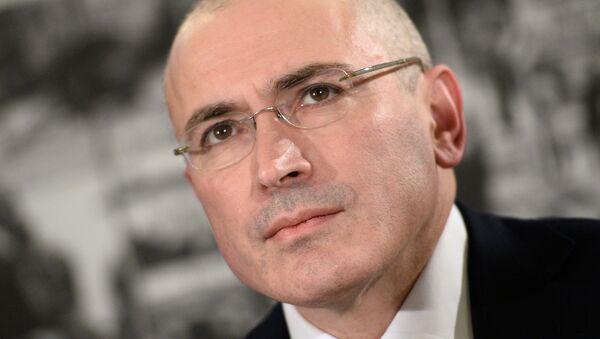Mikhail Khodorkovsky - Sputnik International
