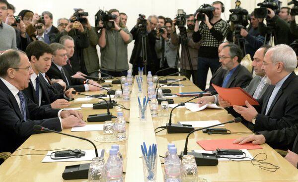 Walid al-Moallem with Sergei Lavrov - Sputnik International