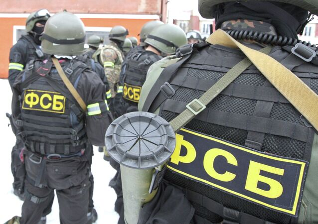 FSB and Internal ministry counter-terrorism exercises