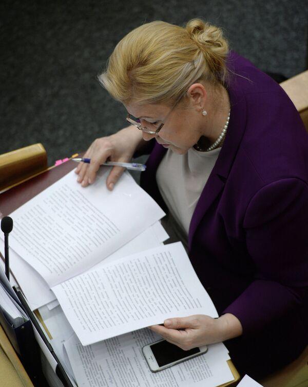 Yelena Mizulina - Sputnik International