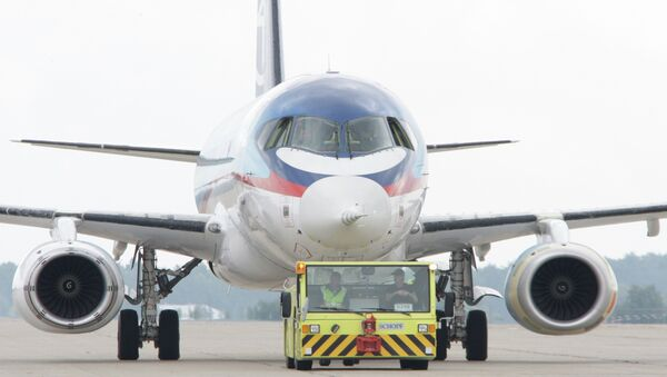 Russia will double the production of Sukhoi Superjet 100  to 50  planes per year - Sputnik International