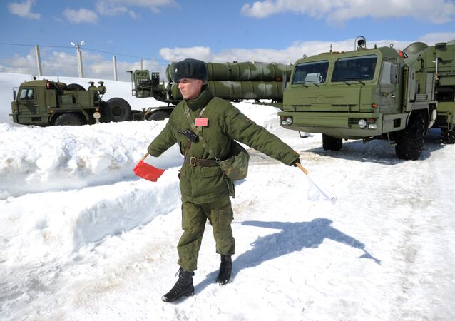 Боевое дежурство ЗРК С-400 Триумф