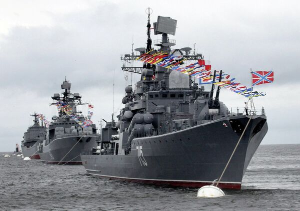 Russia to Arm Warships with New Air Defense System - Sputnik International