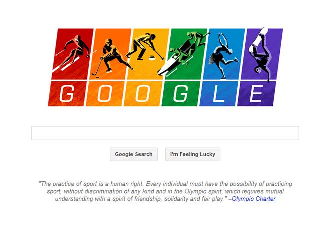 Скрин страницы Google-doodle