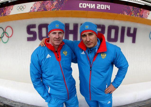 Alexander Zubkov and Alexei Voevoda