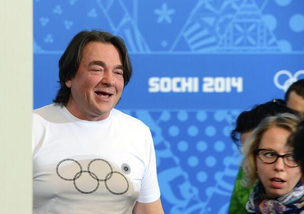 Sochi 2014 creative director Konstantin Ernst at the press-conference - Sputnik International