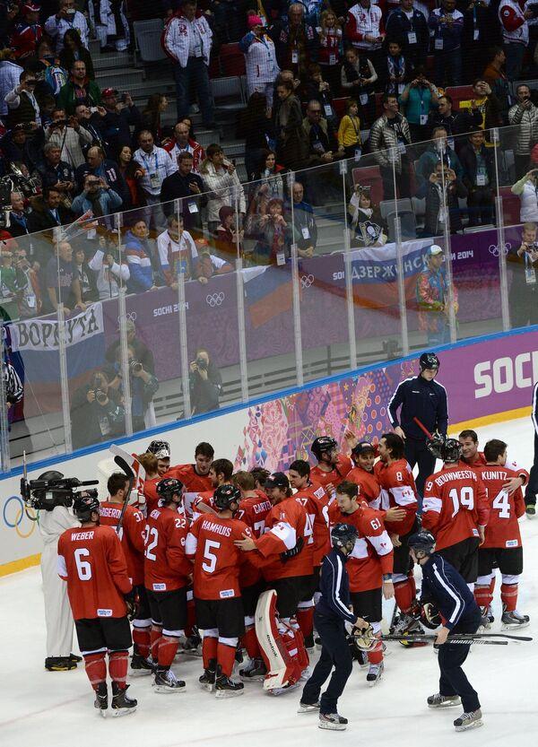 Crosby Inspires Canada to Beat Sweden for Olympic Hockey Gold - Sputnik International