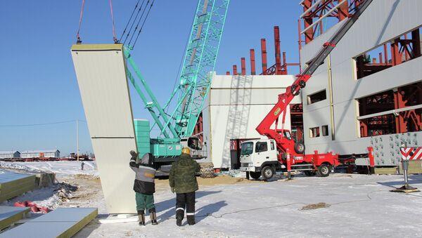 Russia to Boost Manpower on New Space Center Construction - Sputnik International