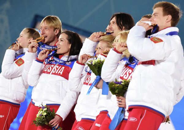 Russian Heroes of the Sochi Olympics: Olympic Champions and Medalists - Sputnik International