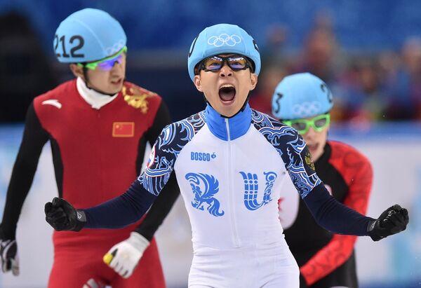 Record-Holders of the XXII Winter Olympic Games - Sputnik International