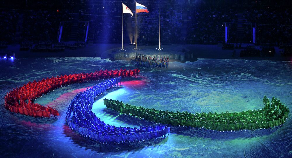 Closing Ceremony of the Winter Paralympic Games in Sochi