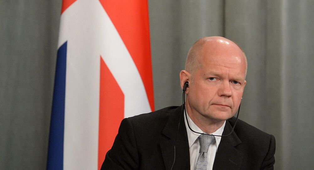 Leader of UK parliament's lower chamber William Hague