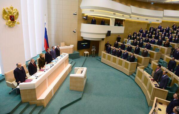 Russia Upper House Approves Reunification of Crimea - Sputnik International