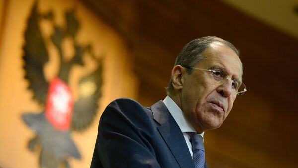 Russian Foreign Minister Sergei Lavrov stated that Moscow has called for stable contacts between Kiev and representatives from eastern Ukraine - Sputnik International