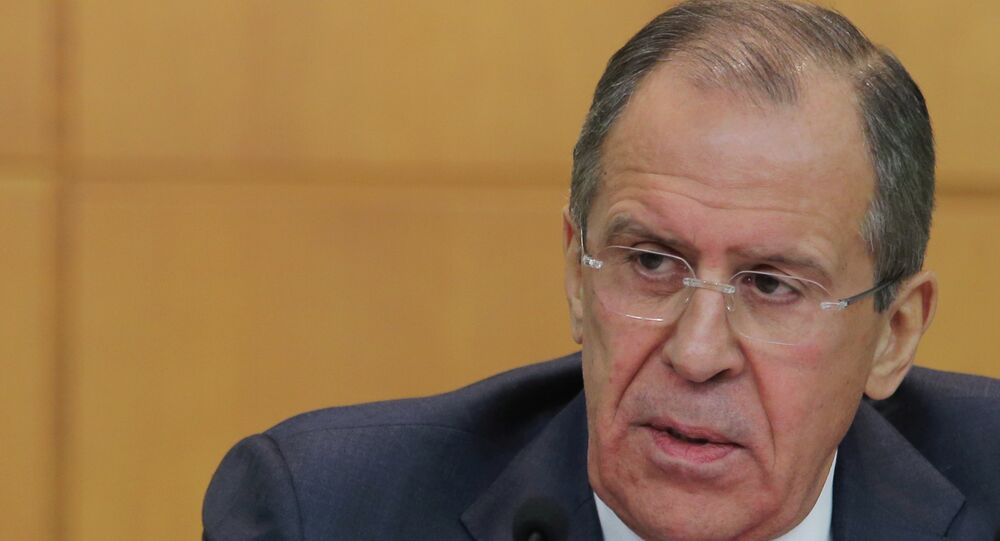 Пресс-конференция главы МИД России С.Лаврова