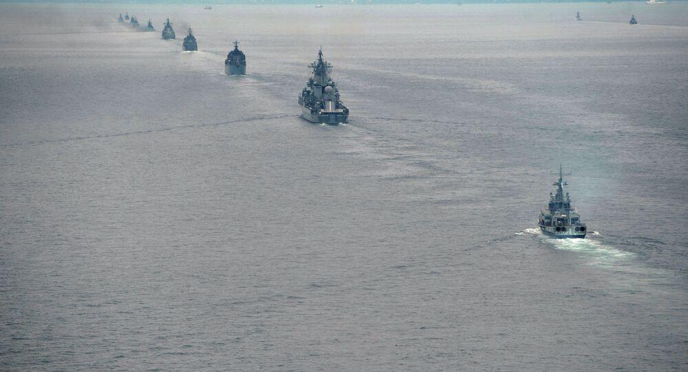 Russian Pacific Fleet ships