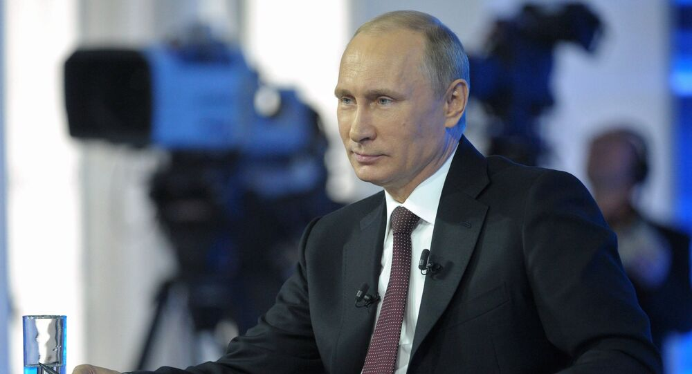 Vladimir Putin S Q A Sessions Year By Year Most Interesting Facts Sputnik International