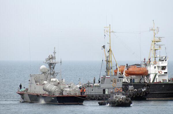 Russia Returns 13 out of 70 Navy Ships in Crimea to Ukraine - Sputnik International