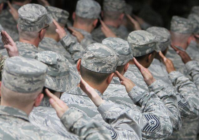 Военнослужащие ВВС США