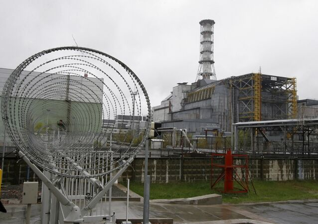 The Chernobyl nuclear power plant