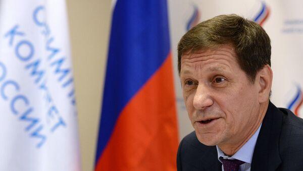 Russian Olympic Committee Chairman Alexander Zhukov - Sputnik International