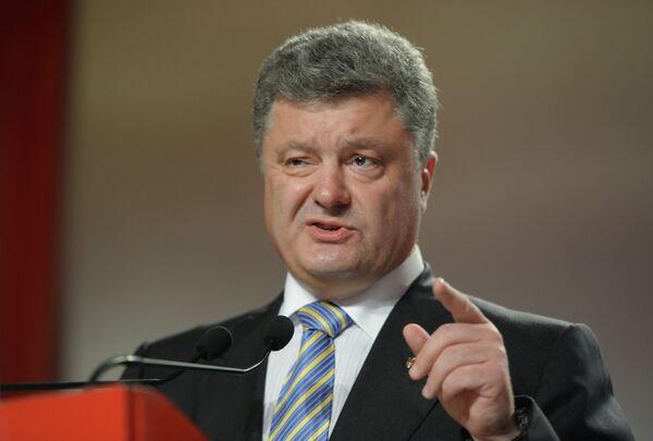 Petro Poroshenko - Sputnik International