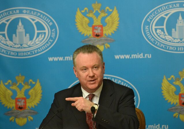 News briefing of Foreign Ministry spokesman Alexander Lukashevich.