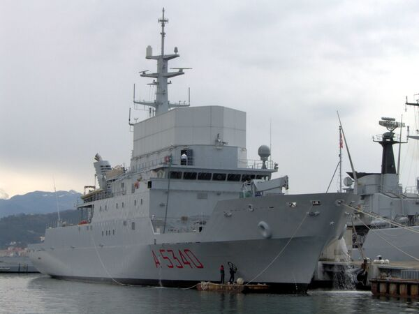 Italian reconnaissance vessel Elettra - Sputnik International