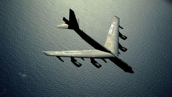 US B-52 Stratofortress strategic bomber - Sputnik International