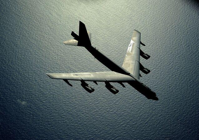 US B-52 Stratofortress strategic bomber