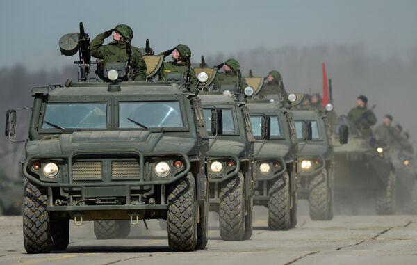 Tiger armored vehicles - Sputnik International
