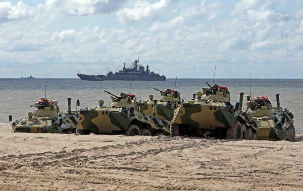 Military Drills Underway in Russia's Western Kaliningrad Region - Sputnik International