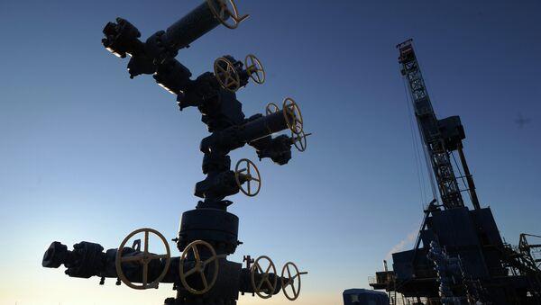 Natural gas drilling rig in the Yamal-Nenets Autonomous District (Archive) - Sputnik International