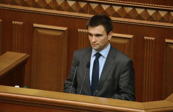 Ukraine's Foreign Minister Pavlo Klimkin - Sputnik International