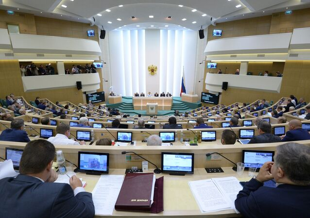In line with the rest of the government and the lower house of parliament, the Russian Federation Council has stepped out in favor of taking a 10 percent pay cut.