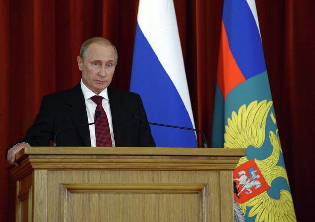 Vladimir Putin meets with Russian ambassadors